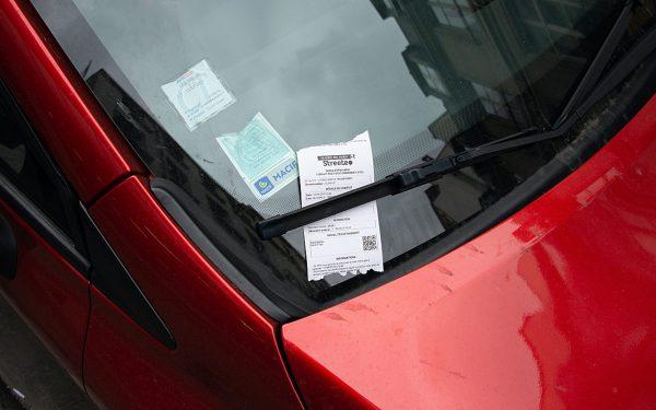 Un service contre les amendes de stationnement